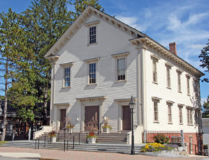 Old Town Hall Bedford Massachusetts